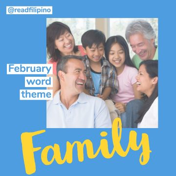 smiling Filipino family